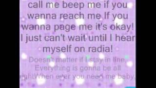 kim possible call me beep me if you wanna reach me with lyrics.wmv