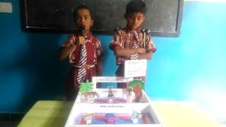 Living and Nonliving things (Science fair) SHIVANI MODEL SCHOOL by Ist class