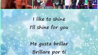 Victoria Justice - Make it shine - Letra en español - Lyrics inglés