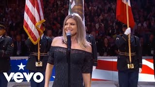 Fergie Performs The U.S. National Anthem (Pitch Shifter Madness)