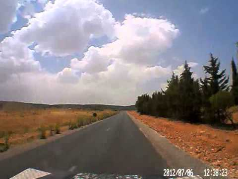 Dash cam video of Fes to Missour (Morocco)
