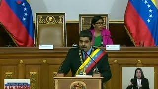 Maduro dice que con o sin oposición habrá presidenciales este año en Venezuela