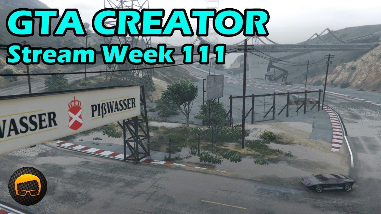 Broughy1322 - GTA Race Track Showcases (Week 111) [XB1] - GTA 5 Content Creator Live Stream