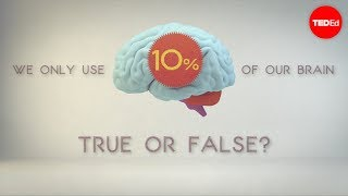 Hoeveel van onze hersenen gebruiken we?