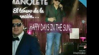 """MANOLETE canta """"IDILIO""""  D.R.A."""