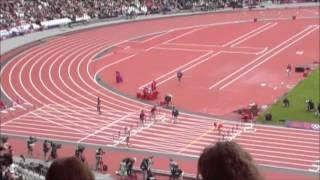 Desaster Run 110 m Hurdles Men London 2012 XXX. Olympic Games Liu Xiang crashes out