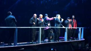 Michael Buble mit Naturally 7 - live - I want you back (Michael Jackson)