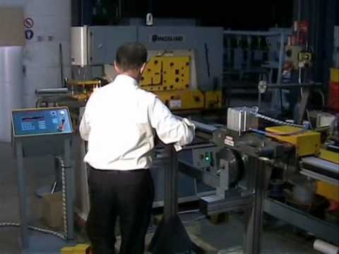 Kingsland KA Linear Rail punching of flat bar and angle