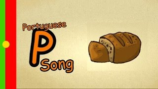 Learn brazilian Portuguese - How to pronounce the alphabet - Letter P-Song - learn Portuguese 101
