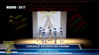 9º CONCURSO CAPORALES MADRID 2017 - CAPORALES SAN SIMÓN USA VIRGINIA