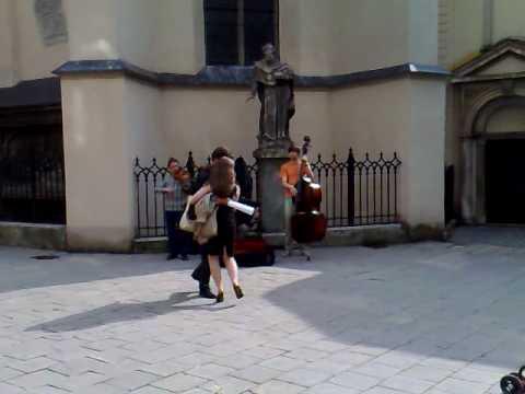 Tango Street Lviv Ukraine June 2009