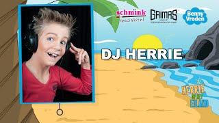 DJ Herrie Theater make-up voorbeeld