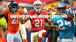 Best Football Interceptions || See Me Fall ||