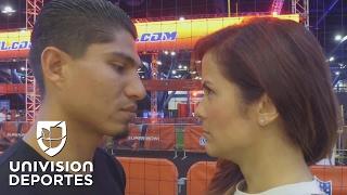 Competencia entre Adriana Monsalve y Mikey García en el Super Bowl LI