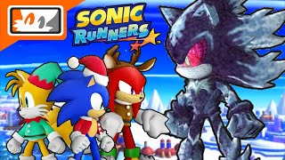 Mephiles & Christmas Sonic, Tails, and Knuckles found in Sonic Runners? (Apple iOS & Android)