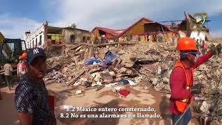 """""""8.2, MEXICO SE LEVANTA"""" DE NANO """"EL CENZONTLE"""""""
