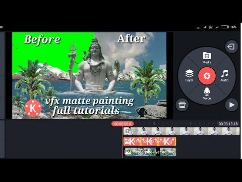 Download thumbnail for Kinemaster full tutorials matte painting shiv