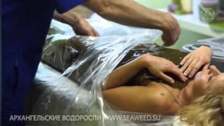 Как проводится процедура водорослевого обертывания