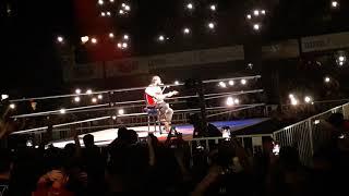 Elías performs De Música Ligera - Soda Stereo WWE Live Argentina Buenos aires