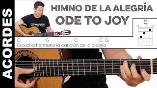 Acordes de Ode To Joy (Himno de la Alegría) en guitarra