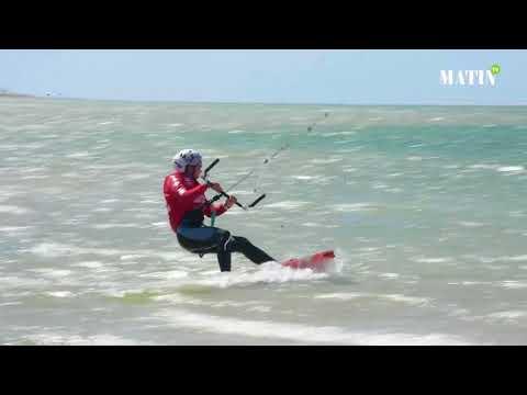 Coup d'envoi de la compétition à Dakhla et sessions d'initiation au kitesurf