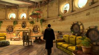 Playstation Home:  Pottermore Hufflepuff Common Room