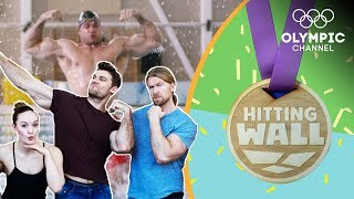 Buff Dudes take on the Canadian Artistic Swimming team's Workout Challenge | Hitting the Wall