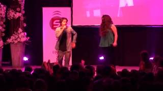 Sara Serena ft Edu Sanchez - Vuelvo a verte Gira 2014- Tudela