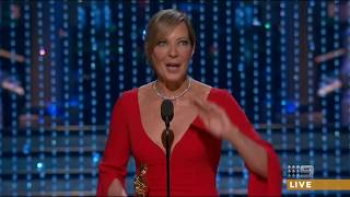 Allison Janney wins the Oscar for Best Supporting Actress 2018 [HD]