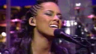 Alicia Keys -  Diary Live  (David Letterman Show)