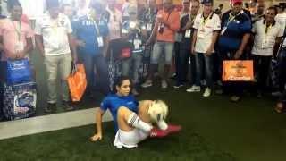 Raquel Benetti - Feira Automec - Freestyle/Embaixadinhas