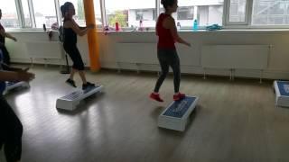 Symetric Step Dance Medium Level with Daniel Bata 1722 😍😍😍
