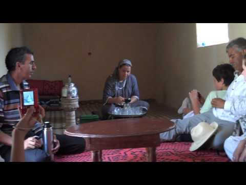 Naturally Morocco Making Mint Tea