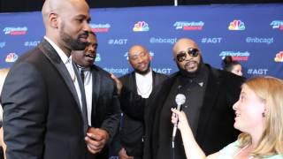 Linkin Bridge Interview at America's Got Talent Season 11 Finale