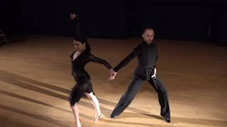 """Shelby & Rhett dancing the Cha Cha - """"Come Fly with Me"""" Dance Showcase"""