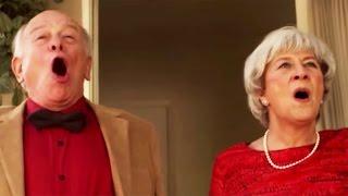 Real Grandparents Sing Frozen's Love Is An Open Door | Oh My Disney