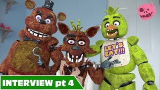 Foxy fnaf real life - Who's his favourite, chica or freddy?