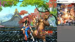Street fighter x tekken Radeon Software Crimson Edition 15.11-Win10-64Bit recording
