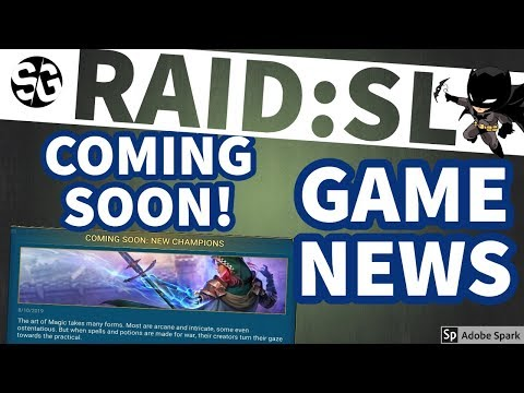 [RAID SHADOW LEGENDS] GAME NEWS. HEROES, CB, VEIL, Batman, ETC.