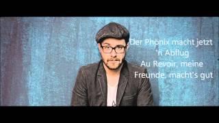 Mark Forster feat  Sido Au Revoir - Lyrics