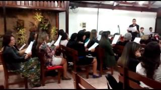 """Meu bom Pastor""- 1º workshop de louvor ICM- Bairro da Luz- 2015- NI/RJ"