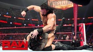 Drew McIntyre brutalizes Roman Reigns: Raw, March 11, 2019
