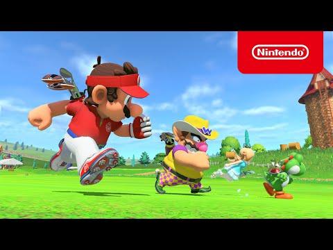 WTFF::: Mario Golf: Super Rush - New Trailer Released