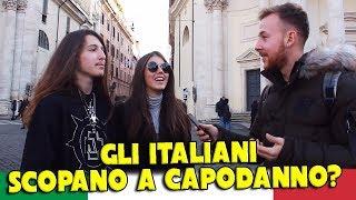 Gli ITALIANI SC0PANO a CAPODANNO?  - Esperimento sociale