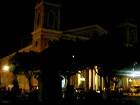 granada – plaza de  la independencia at night – design on a dime gibberish