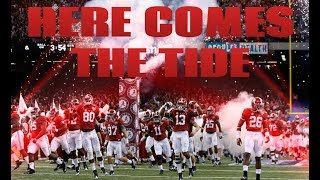 """Alabama Football Hype """"Here Comes the Tide"""" (2018-2019) HD"""