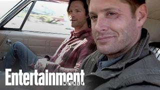 Supernatural: Jensen Ackles and Jared Padalecki On Remaking 'Baby' | PopFest | Entertainment Weekly