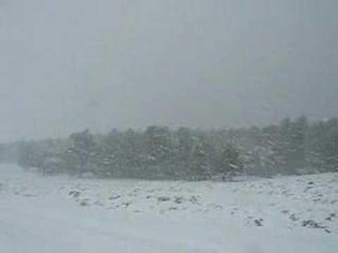 عاصفة ثلجية في ليبيا Libya Snow Storm