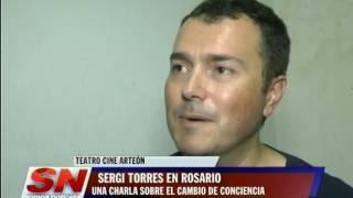 SERGI TORRES EN ROSARIO