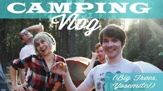 Ross and My Summer 2014 Camping Trip! - Vlog #1 - Commander Holly Show